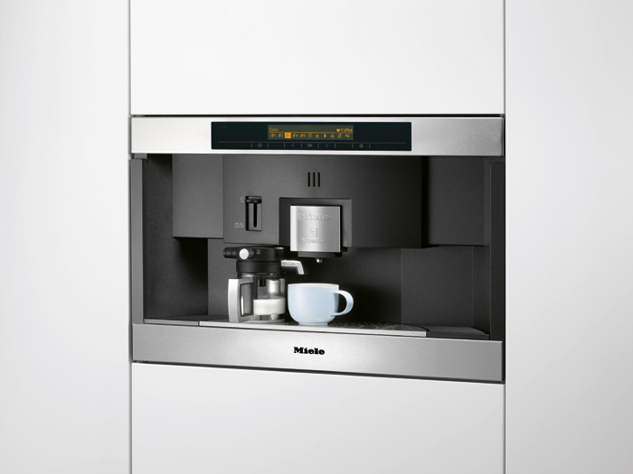 miele built in capsule coffee