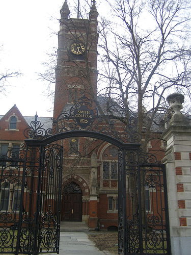 Smith College Grecourt Gates
