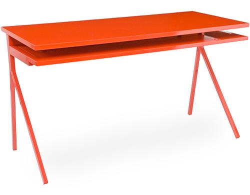 orange desk 51 blu dot