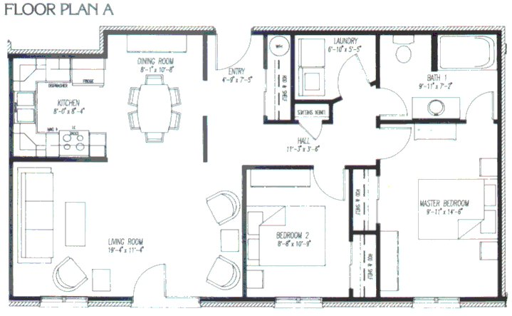 Free home plans interior design floorplans for 4 floor apartment plan