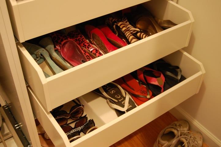 Shoes Interior Design Closet Ikea Storage Drawers Function