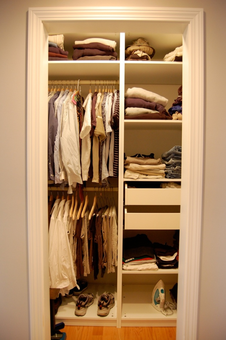 Man's Closet Storage Interior Design Storage Function