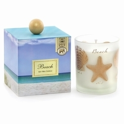 Shorely Chic Beach Candle Soy Etsy Hostess Gift Starfish