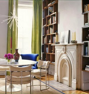 library, dining, multi-function, contemporary, elegant, grown-up, interior design