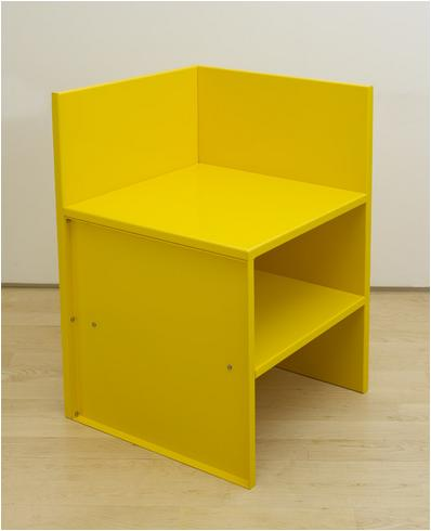 donald judd, furniture, color, art