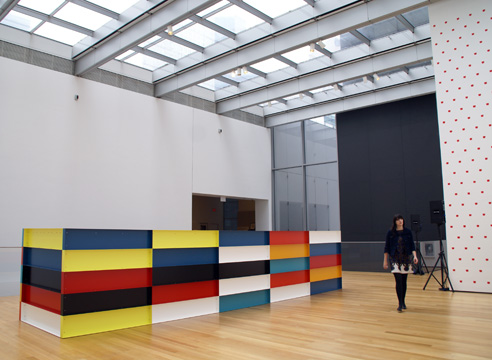 donald judd, color, chart, 1989, LEGOs, MOMA, Museum of Modern Art, NYC
