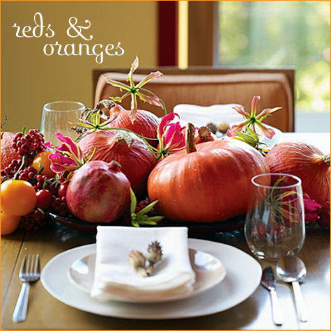 fall, decor, color, better homes & gardens, table setting