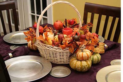 fall, decor, tablescape, color, pumpkins
