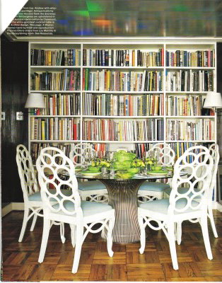 library, dining, transitional, interior design, james andrew