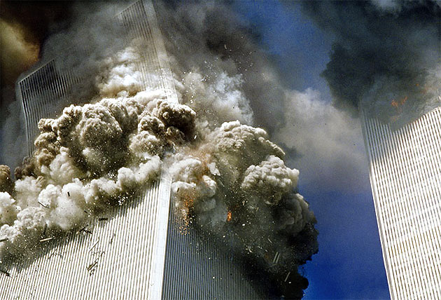 twin towers 9 11 video. 9/11 Attack Video