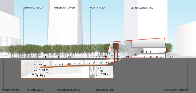 WTC, 9/11 memorial, plan, downtown, new york city