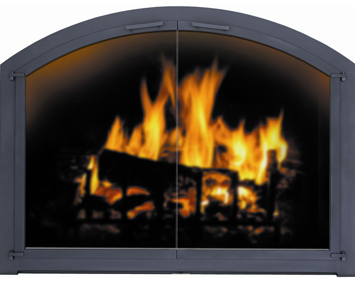 Stoll, fireplace, glass doors, safety, interior design
