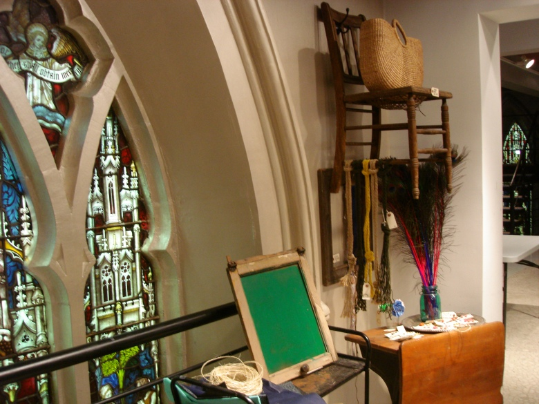 church, renovation, retail, stained glass, interior design, nyc