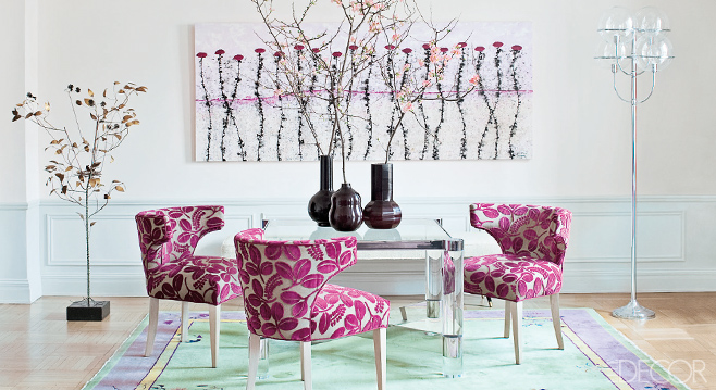 Think pink interior design inspiration from jeanine for Designers guild bedroom ideas