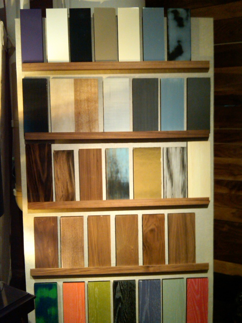 New Traditionalists, finishes, furniture, wood grain, lacquer