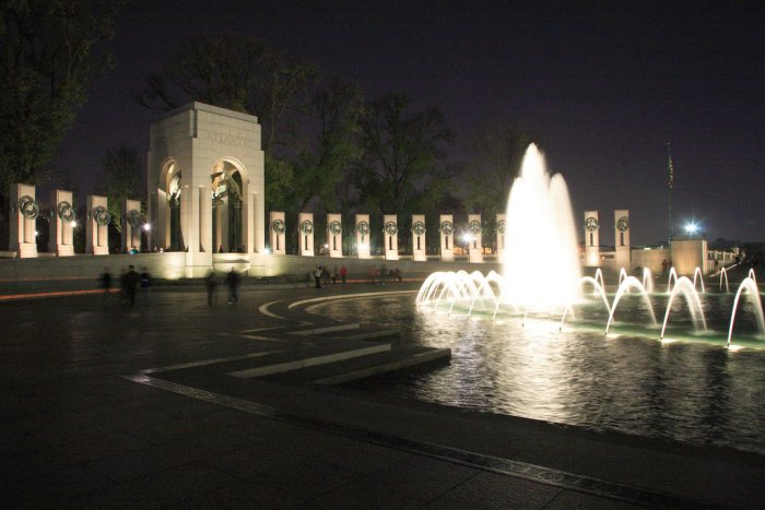 WW II, memorial, veterans day, architecture