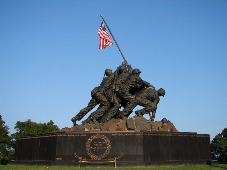 Iwo Jima, memorial, architecture, statue