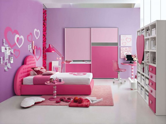 pink, teen, tween, decor, interior design, white, storage, nabuzz