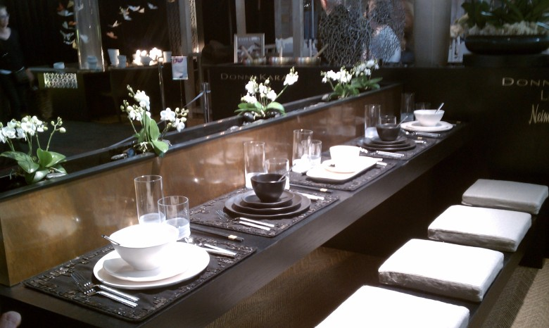 diffa, dining by design, zen, interior design, neutral, donna karan, furnishings
