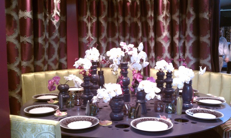 dining by design, interior design, diffa, color, furnishings