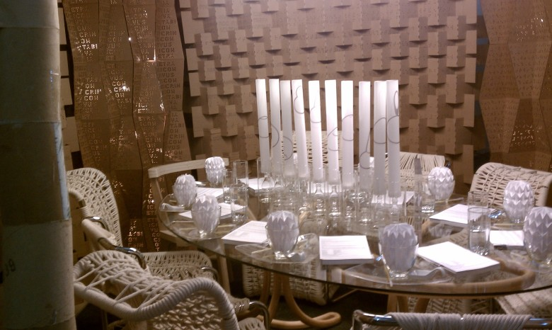student, cardboard, interior design, dining, diffa