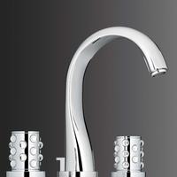 faucet, Lalique, bath, elegant, interior design, THG