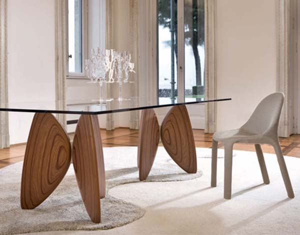 Vanessa, dining table, Bartoli, interior design, furnishing, furniture