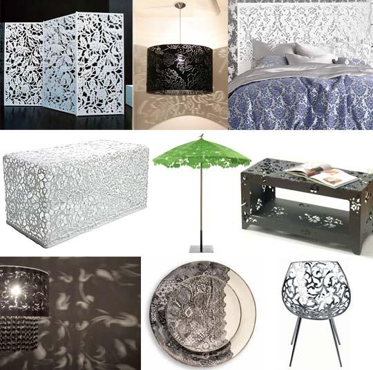 lace, apartment therapy, furniture, interior design