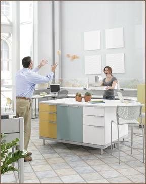 file cabinet, office, Izzy, interior design, corporate, color, storage, function